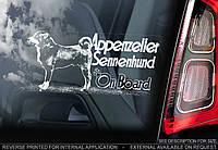 Аппензеллер зенненхунд (Appenzeller Sennenhund) стикер