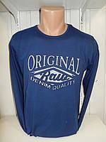 Футболка длинный рукав RBS, ORIGINAL стрейч 003/ купить футболку  длинный рукав оптом