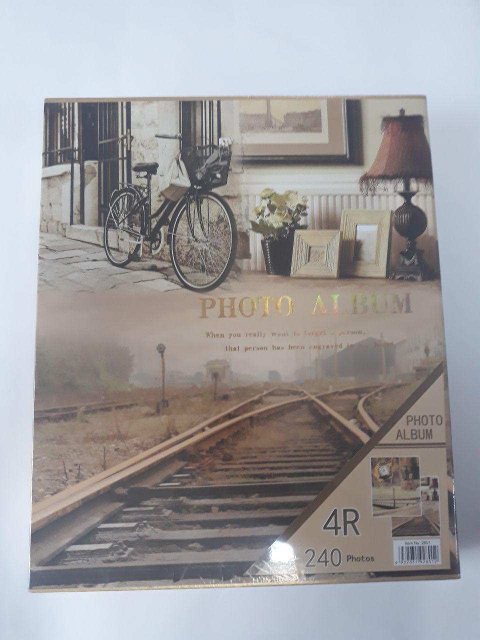 Фотоальбом ретро Железная дорога
