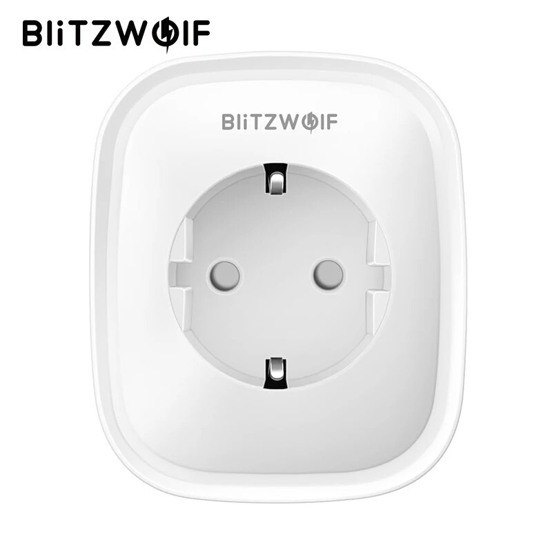 BlitzWolf BW-SHP2 WiFi розумна розетка, розумний будинок. Моніторинг енергоспоживання
