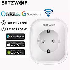 BlitzWolf BW-SHP2 WiFi розумна розетка, розумний будинок. Моніторинг енергоспоживання, фото 2