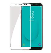 Защитное стекло Full cover Samsung J6 2018 - Белое