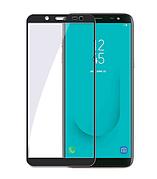 Защитное стекло Full cover Samsung J6 2018 - Черное