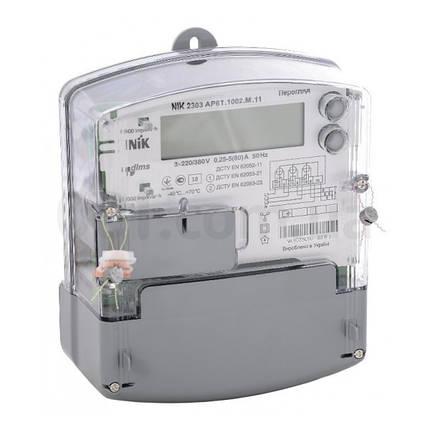 Электросчетчик NIK 2303 AP6T.1002.M.11 3х220/380В Многотарифный, фото 2