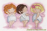 Набор для вышивания крестом МП Студия НВ-560 Любоваться красотой