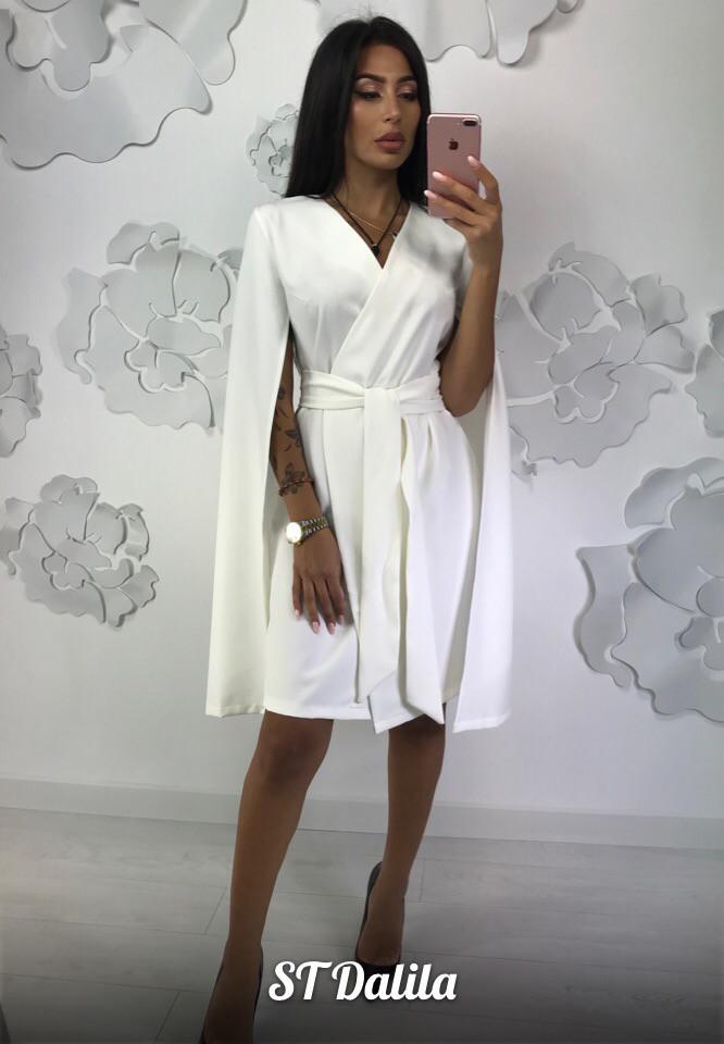 03c8a3cb90c Модное платье с необычными рукавами - Интернет-магазин