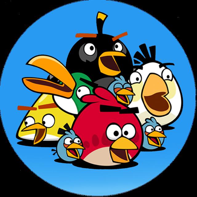 Angry Birds. Герои м/ф Сердитые птички