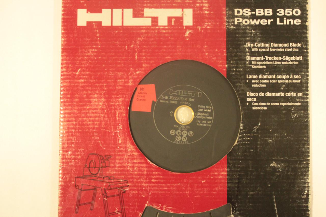 Відрізний алмазний диск hilti DS-BB 350 Power Line 350 Граніт