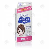 Полоски для очищения кожи носа от черных точек Biore 10 шт