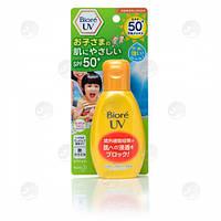 Солнцезащитное детское водостойкое молочко для лица и тела Biore UV Kids Milk SPF50+ PA++++ 90g