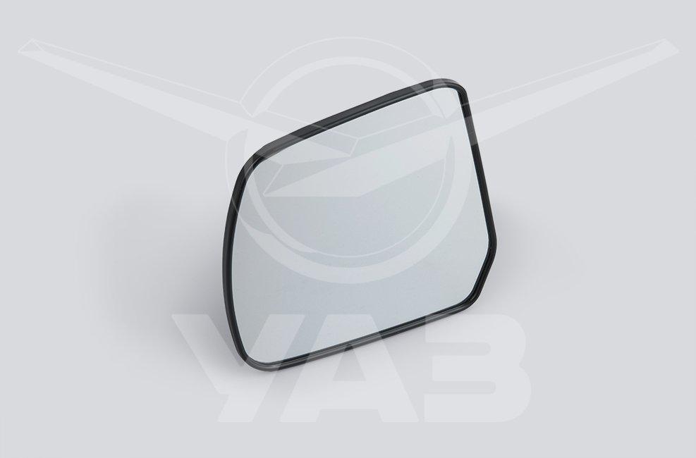 Элемент зеркала заднего вида левое с держателем (для а/м уаз патриот с 2014 г.в.)