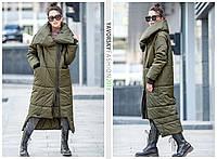 Пальто-одеяло Yavorsky Клайд стильное свободного oversize кроя GY819