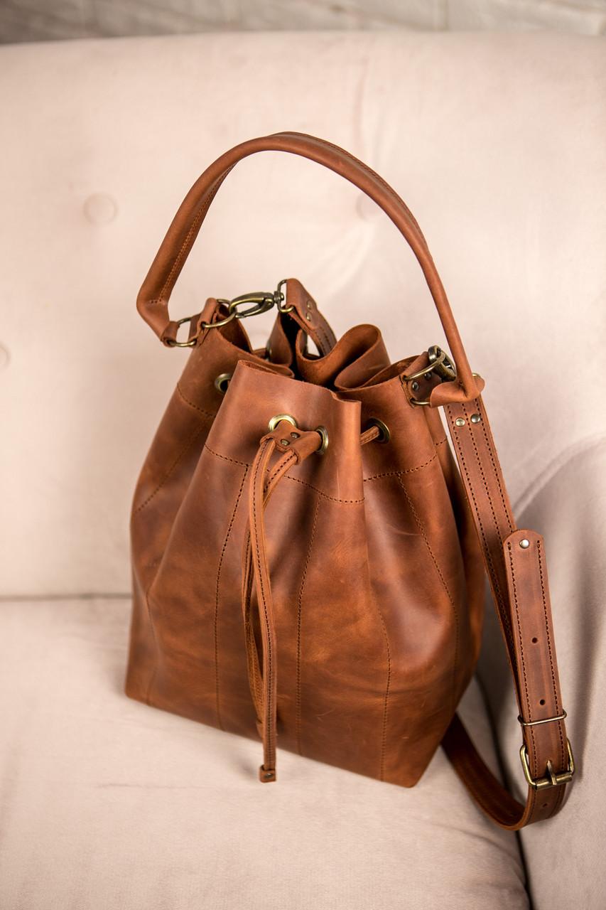 4d8756a24622 Сумка женская, цвет светло-коричневый, шкіряна сумка Pouch, сумка через  плечо,