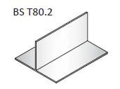 80х50х2 Т-профиль