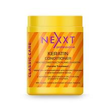 Кератин-кондиционер для реконструкции и выравнивания волос Nexxt Professional Keratin-Conditioner 1000ml