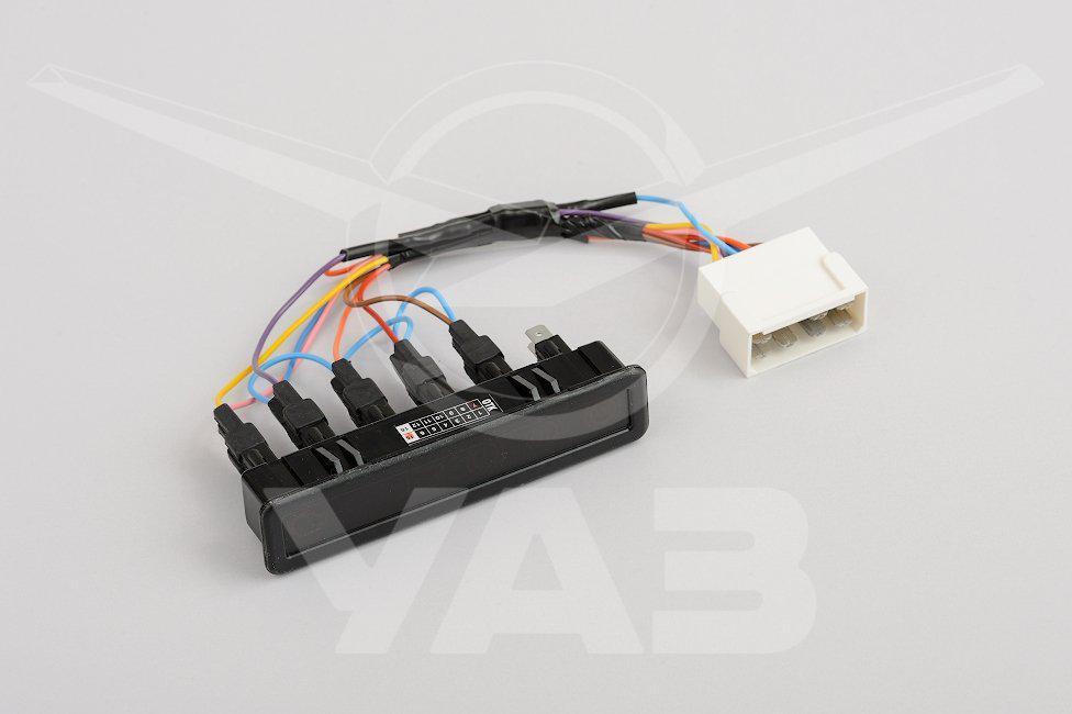 Блок контрольных ламп с проводами