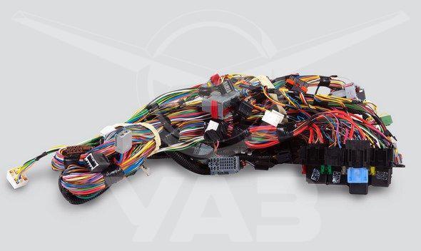 Жгут проводов панели приборов (для а/м уаз патриот, пикап бензин до 2017 гв)