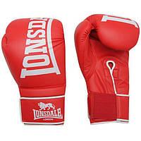 Перчатки тренировочные Lonsdale Challenger Boxing Gloves Red