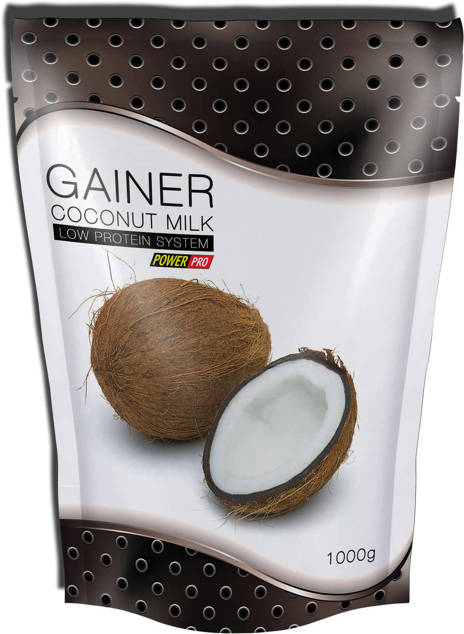 Гейнер Power Pro - Gainer (1000 грамм) coconut/кокос