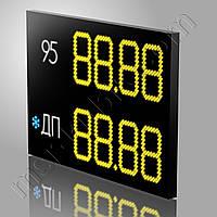 Светодиодное ценовое табло для модульной АЗС 1300х900