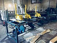 Торцовочный станок для бруса (мультиторцовка), фото 1