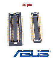 2шт - Разъем межплатный ASUS X555SJ, A555SJ, K555SJ - 40pin  - HDD Sound Board