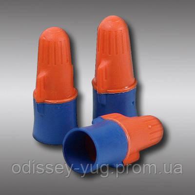 Cоединители 3M Performance Plus O/B+.Электрические. Оранжево-синие.