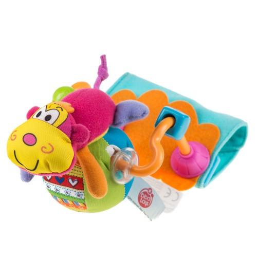 Іграшка на коляску Biba Toys МАВПОЧКА НА РОЛИКАХ new
