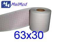 Бумага 63Х30 для ЭКГ Biomed BE300G, Fukuda
