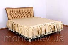 """Кровать """"Фараон"""" двуспальная с мягким изголовьем и подъемным механизмом , фото 3"""
