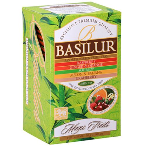 Зелений чай Basilur Асорті 20х1,5 м