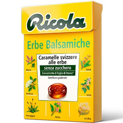Леденцы Ricola Erbe Balsamiche 50 г