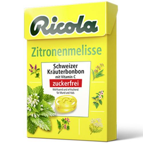 Леденцы Ricola Zitronnenmelisse 50 г