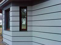 Рустовочный профиль на фасаде. Декоративный фасадный руст установка и монтаж.