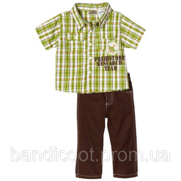 Набор для мальчика рубашка, штаны Little Rebels, размер 18 месяцев