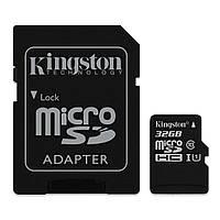 Карта памяти  MicroSD 32 Gb class 10 Kingston