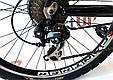 """Горный велосипед ARDIS ATLANTIC 26"""" Красный/Черный, фото 7"""