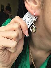Срібні сережки Арт.2088