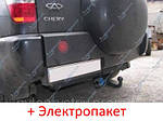 Фаркоп съемный на двух болтах Chery Tiggo, T11 Кроссовер (2005-2013)