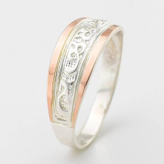 """Серебряное кольцо """"Кира"""", вес 2.38 г, размер 15.5"""
