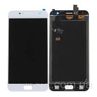 Дисплей (экран) для Asus ZenFone Live (ZB553KL) + тачскрин, белый