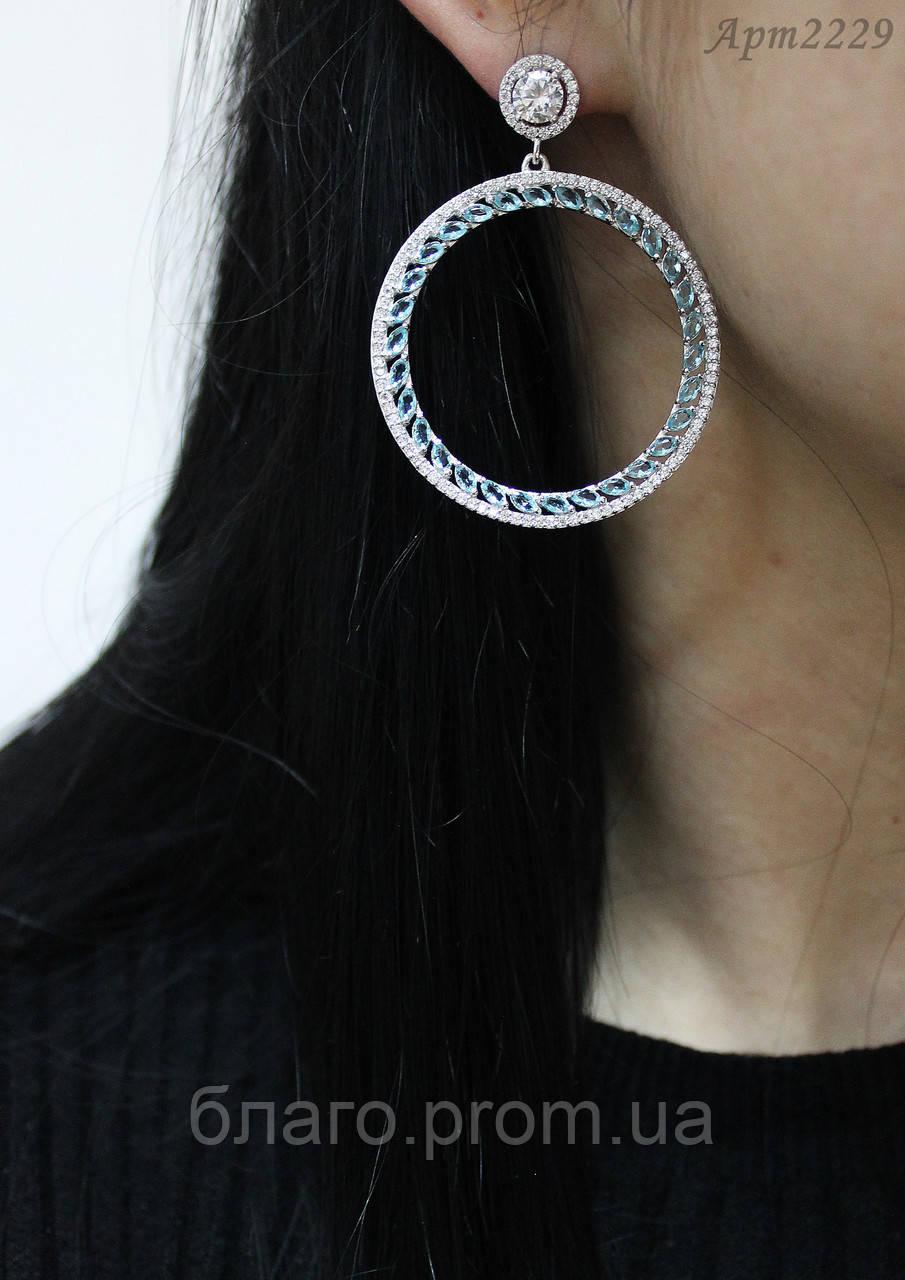 Серебряные серьги Арт.2229