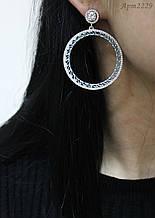 Срібні сережки Арт.2229