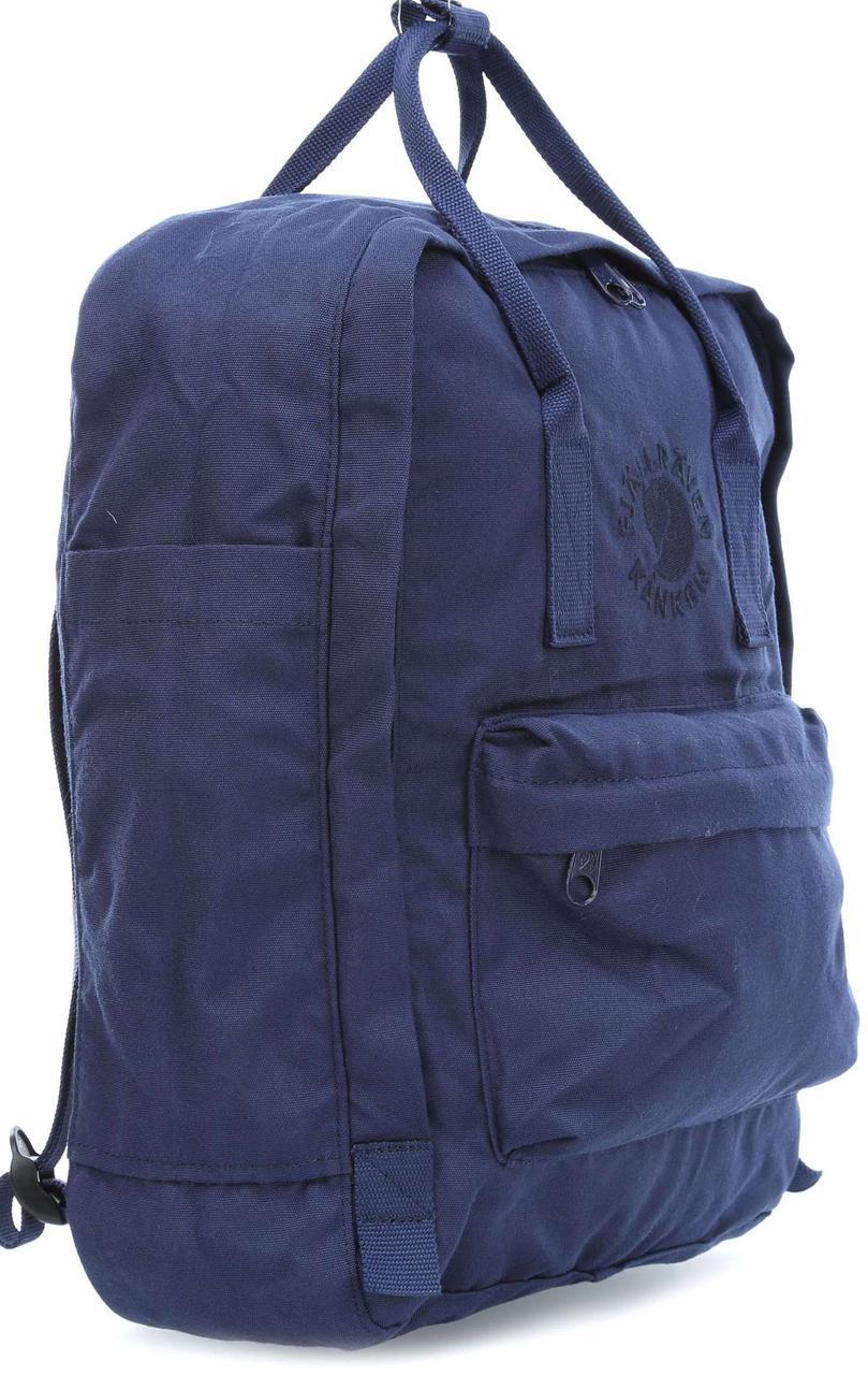 Рюкзак из полиэстера FjallRaven Re - Kanken 23548.558, 16 л, темно синий