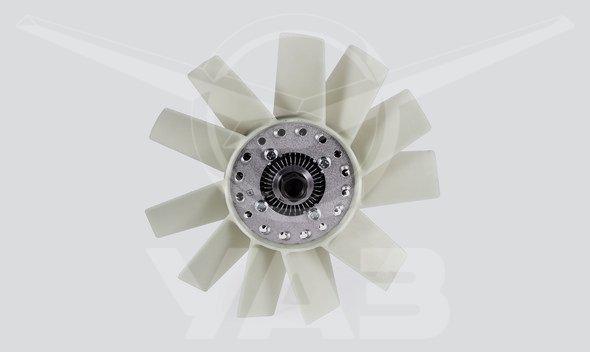 Вентилятор охлаждения  (для а/м уаз сгр, дв. змз 4091, 40911, муфта с крыльчаткой)
