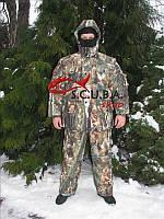 """Зимний камуфляжный костюм для рыбалки и охоты VERUS """"Зеленый клен"""" утепленный на флисе"""