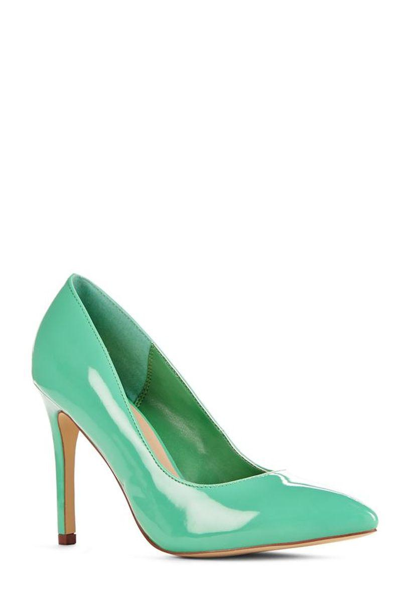 Туфли JustFab Womens Palmira Green