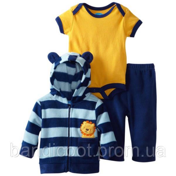 Комплект кофта, штаны, бодик  Bon Bebe, размер 6-9 месяцев