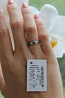 Серебряное кольцо с эмалью и камнями