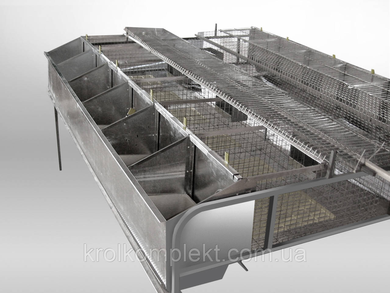 Клітка для кролів БМ - 2 Ф універсальна . - фото 6